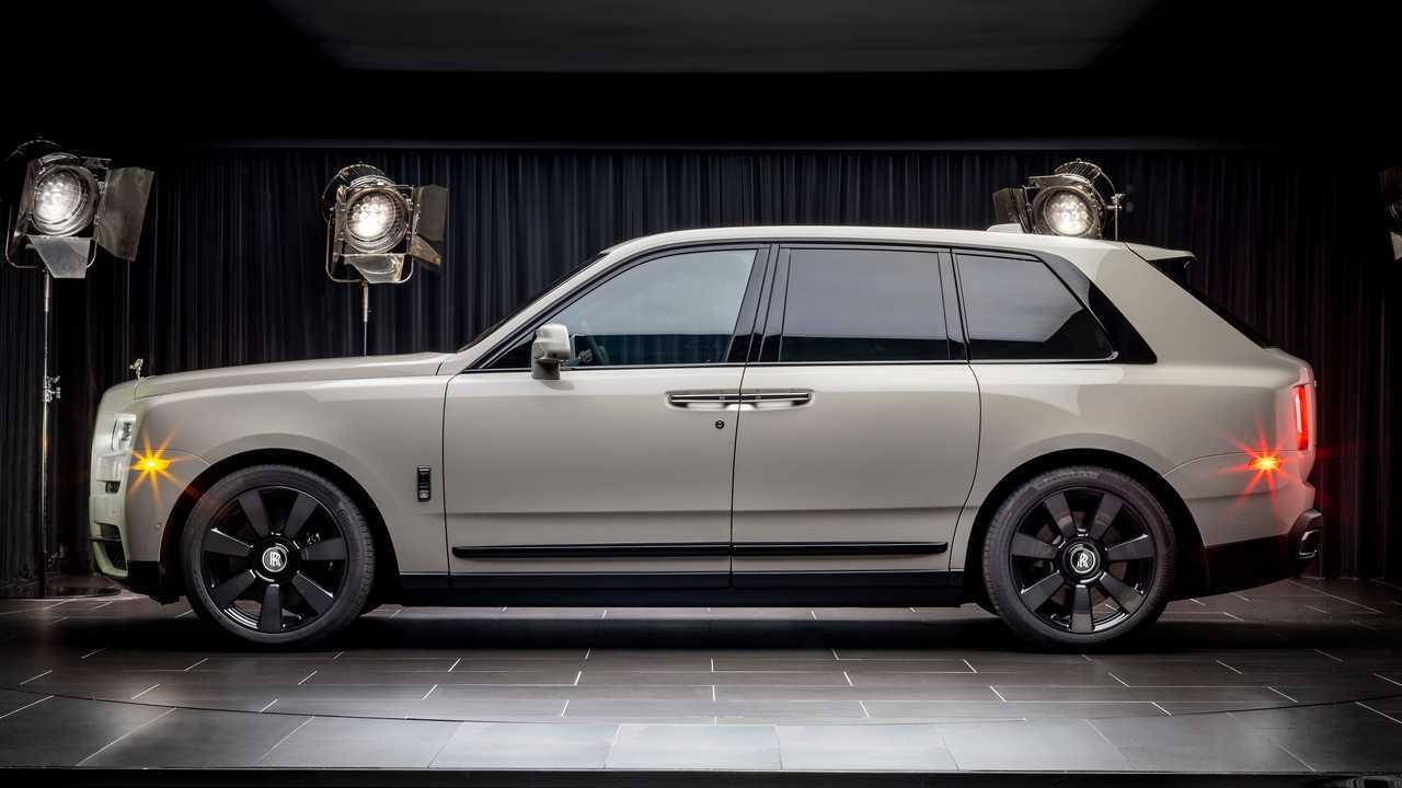 Цвета Rolls-Royce Cullinan на заказ