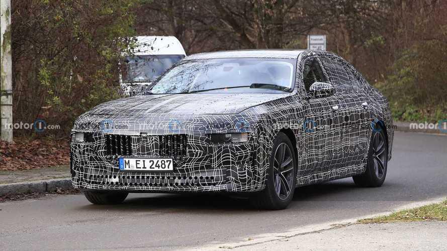 Шпионские фото новой BMW 7-й серии и электрокара i7