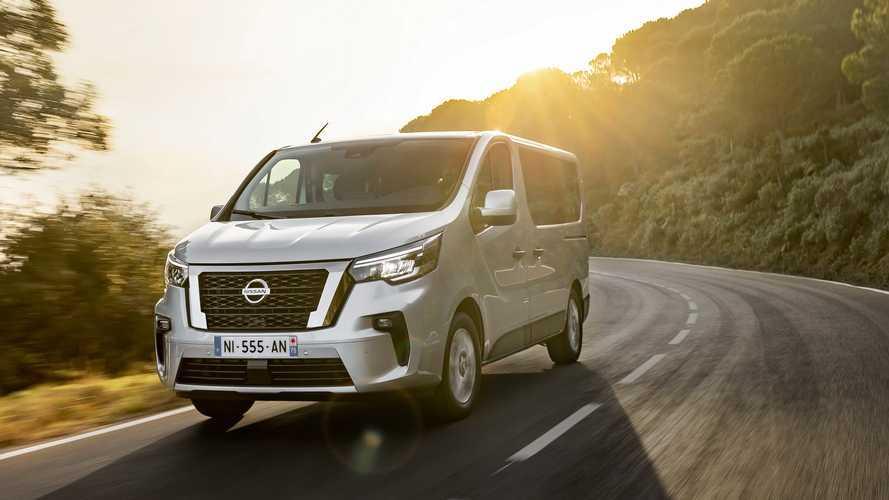 Nissan NV300 Combi 2021: la furgoneta estrena aspecto y tecnología