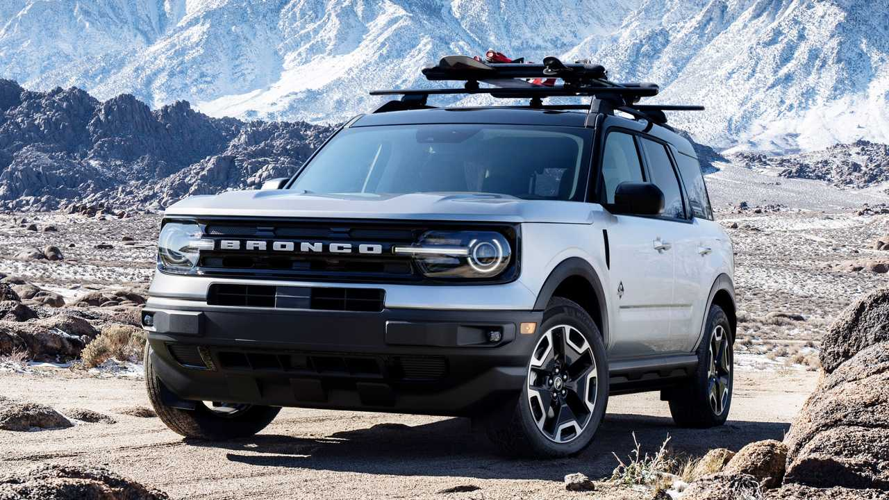2021 Ford Bronco Sport Snow accessory bundle