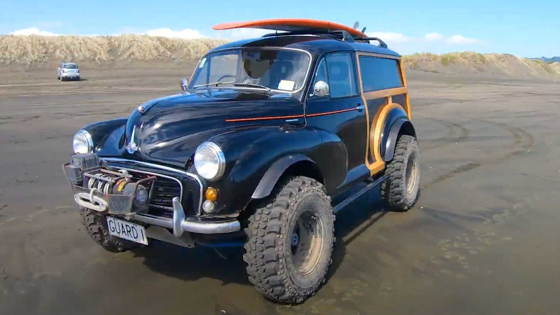 Morris Minor Off-Roader Is Actually A Suzuki Vitara Underneath