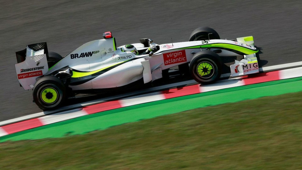 Jenson Button (GBR), BrawnGP, Japanese Grand Prix, Sunday Race, Suzuka, Japan, 04.10.2009