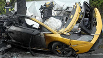 Lamborghini Gallardo crash, two fatalities, 600, 06.05.2010