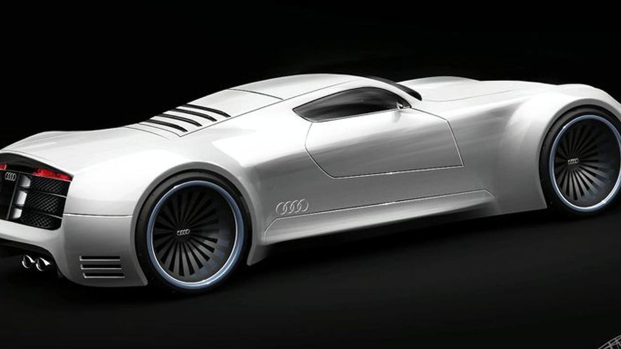 Audi R10 Supercar artists speculative rendering | Motor1.com Photos