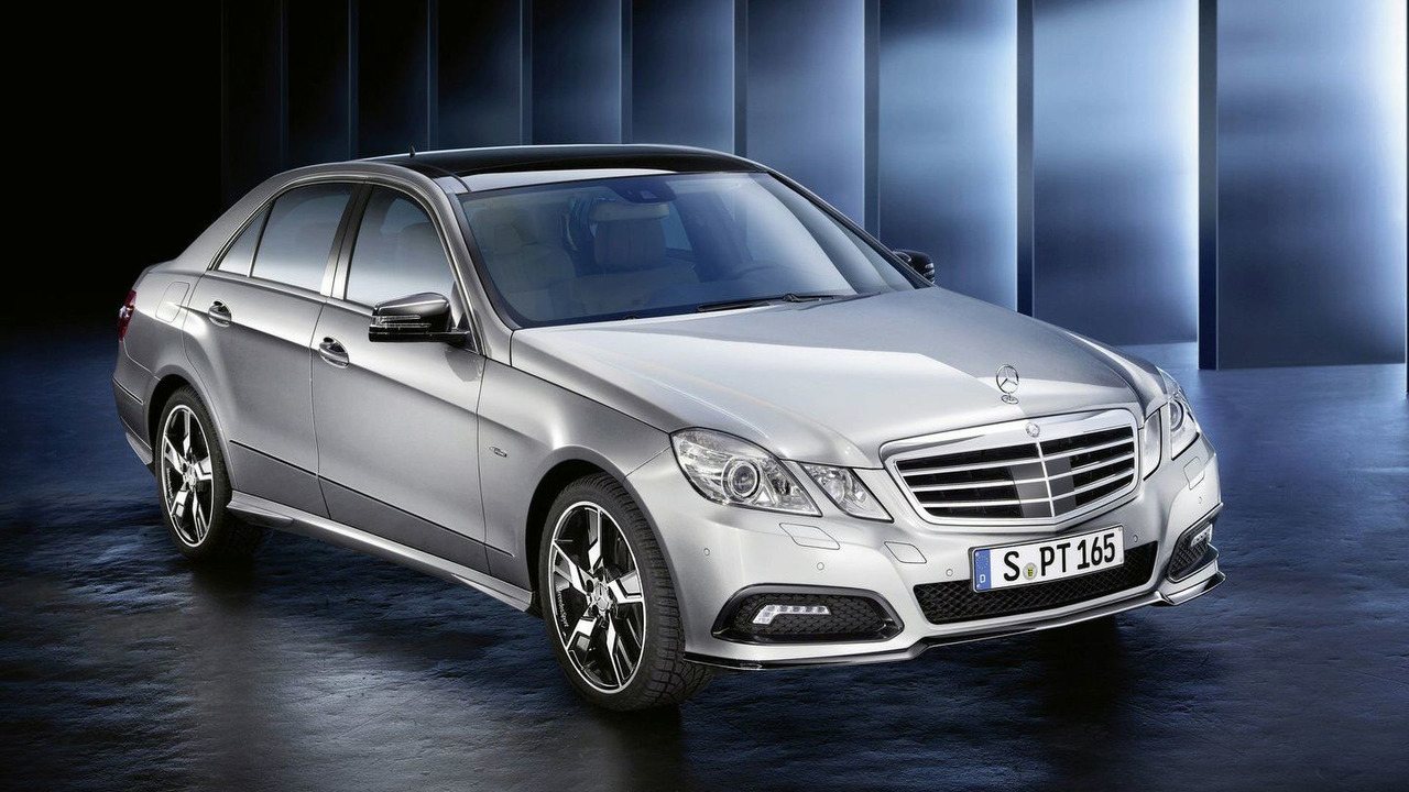MercedesSport Individualisation program for Mercedes E-Class sedan 23.02.2010