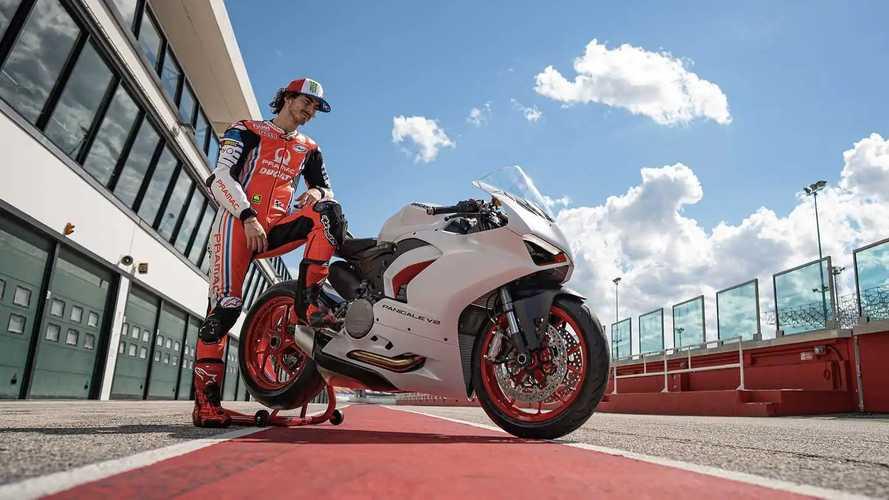 2020 Ducati Panigale V2 Star White Silk