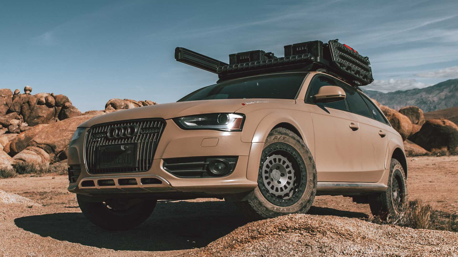 Epic Audi A6 Allroad Overlander Is Our Dream Camping Companion