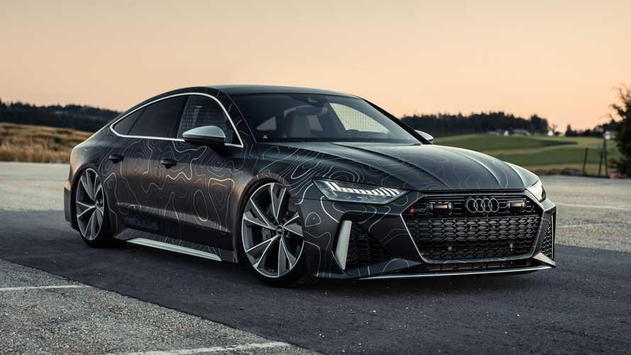 Nebulus Audi RS 7: una salvaje preparación de Black Box-Richter