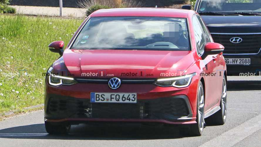 2021 VW Golf GTI TCR new spy photos