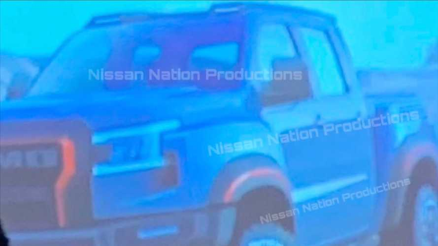 Leaked Nissan Frontier Nismo Photo Likely Hints At Next-Gen Truck