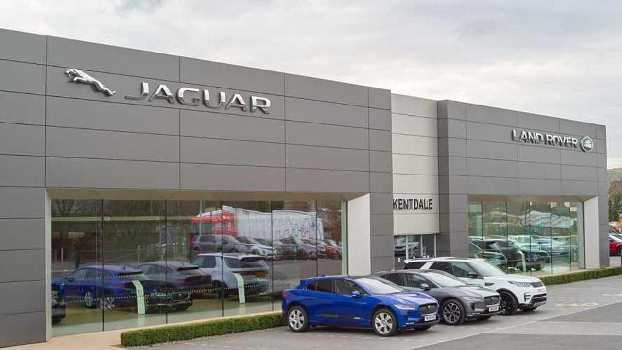 Jaguar Land Rover showroom in Kentdale UK