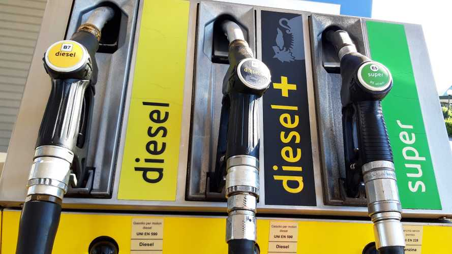 Pompa carburante, benzina e diesel