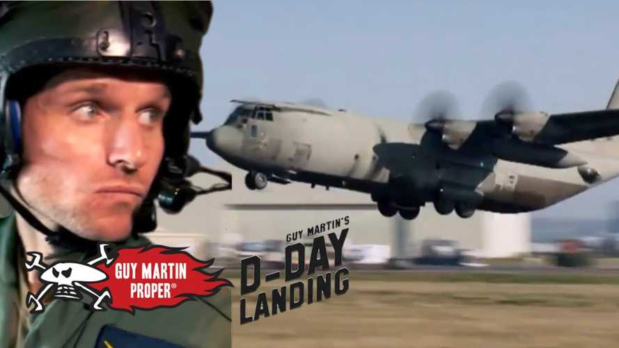 Watch Guy Martin airdrop a Royal Enfield Flying Flea out of a plane