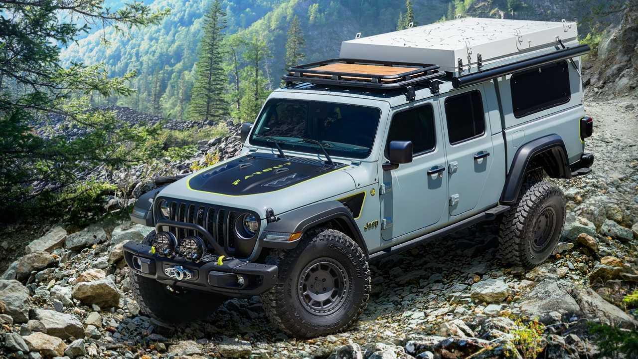 Jeep Gladiator Farout Concept Delantero 3/4