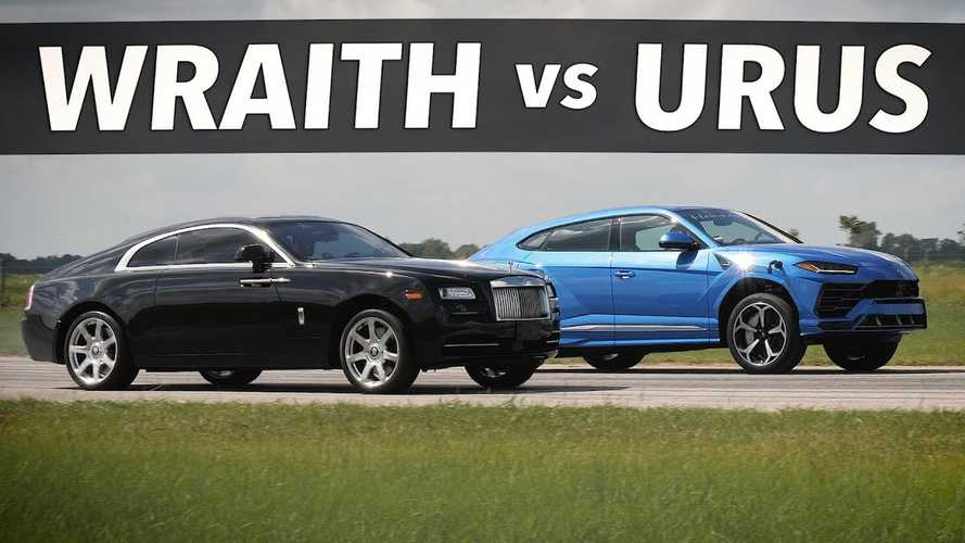 Videó: Nem minden nap gyorsul a Hennessey Lamborghini Urusa Rolls-Royce Wraith ellen