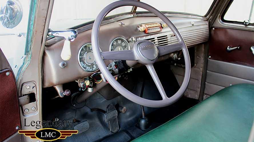 Steve McQueen's 1952 Chevy 3800 Camper