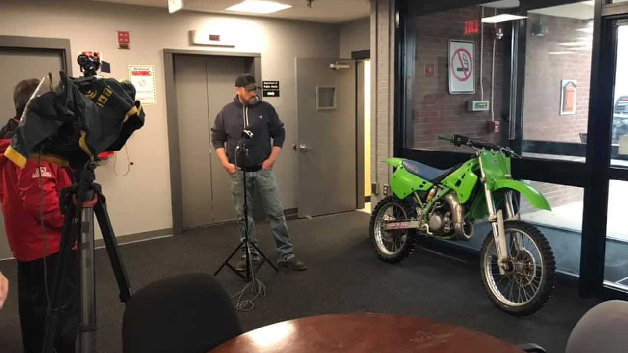 Recovered Stolen Dirt Bike