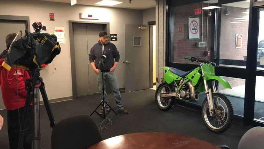 Stolen Dirt Bike Recovered 27 Years Later