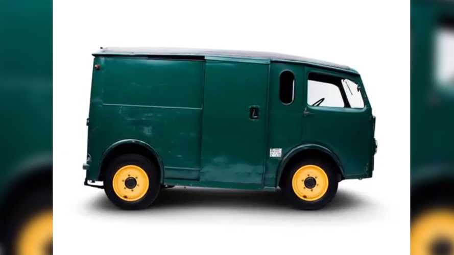 The First Vehicle Ever With A Sliding Side Door Was A Citroen TUB