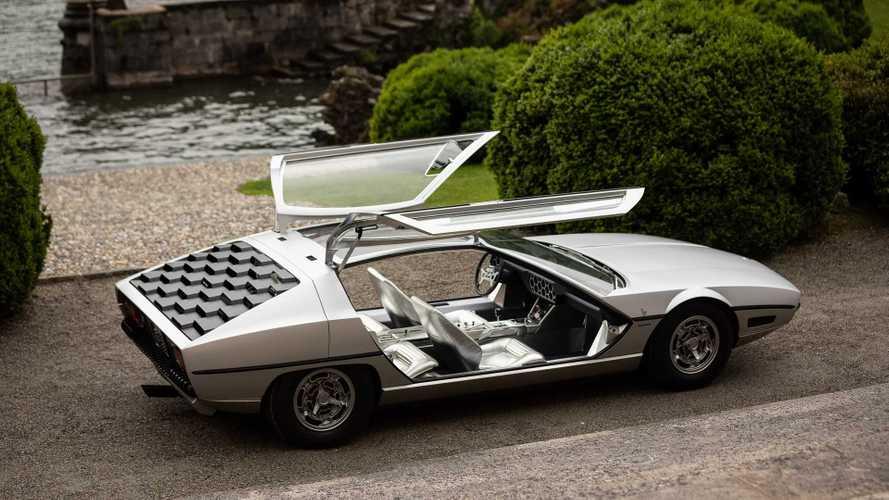 Concept oublié - Lamborghini Marzal (1967)