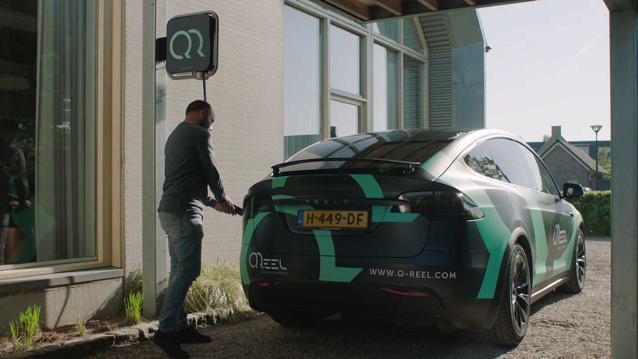 See How Q-Reel Will Try To Make Charging Your EV A Lighter Job