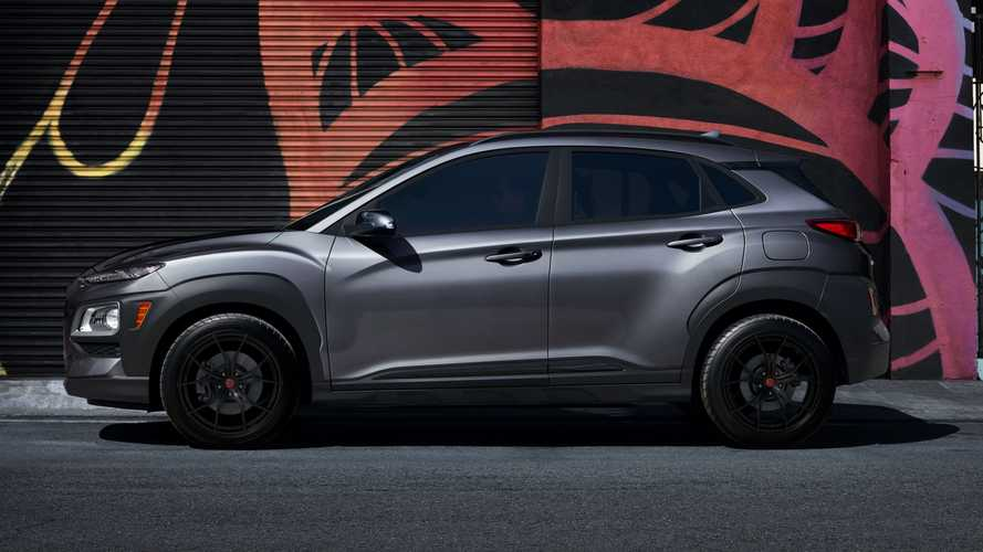 2021 Hyundai Kona Night Edition Wants To Turn You To The Darkside