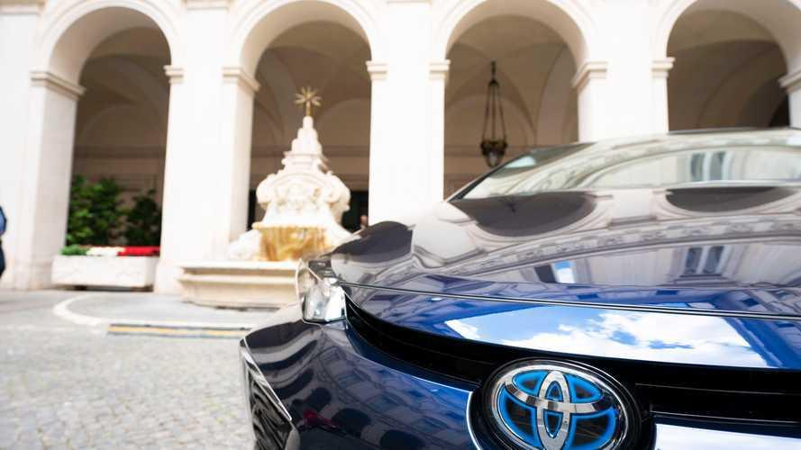 Toyota Corolla nel parco di auto della Presidenza del Consiglio