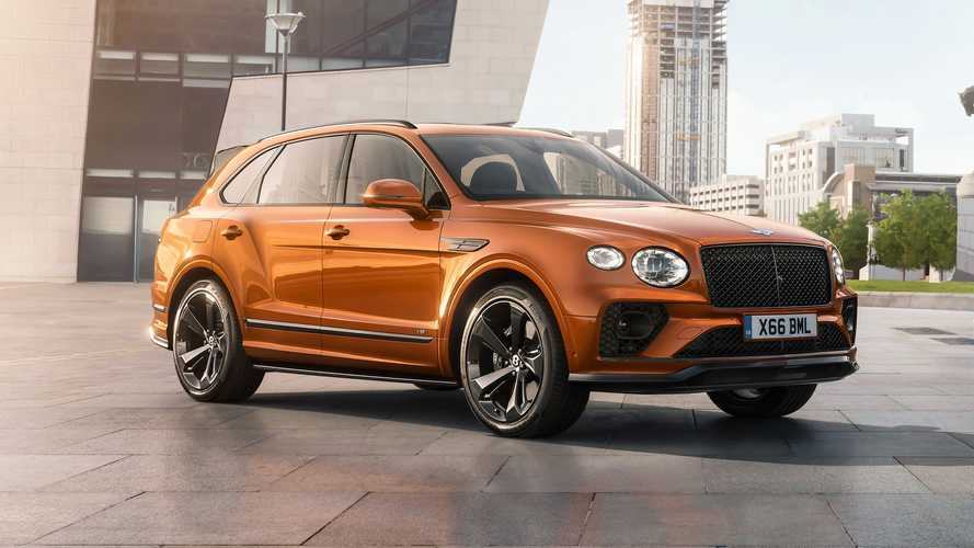 2021 Bentley Bentayga Accessories - front quarter shot