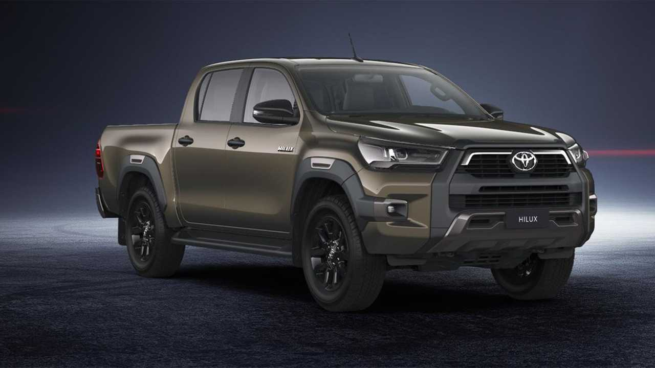 Toyota Hilux Black Onyx