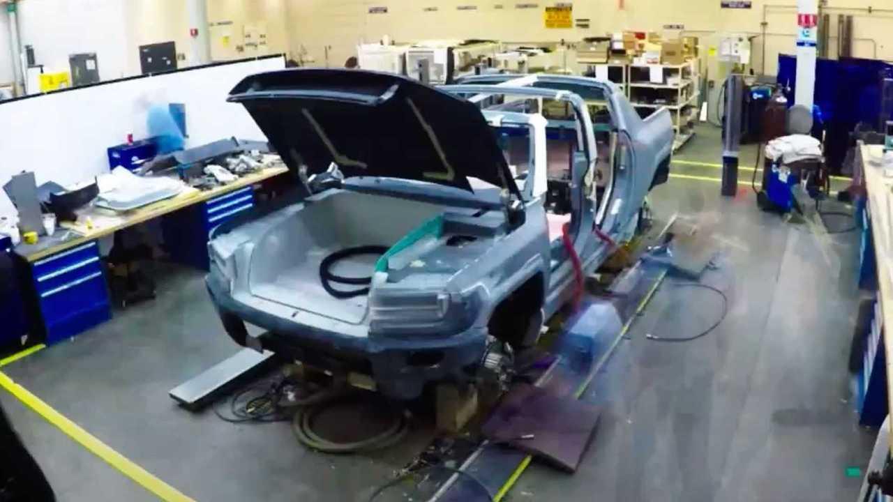 GMC Hummer EV – кузов