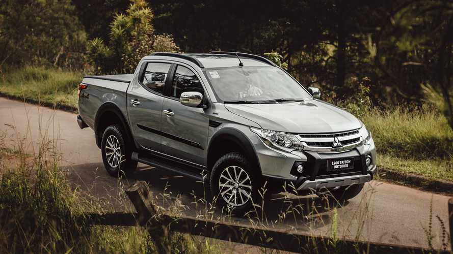 mitsubishi l200 triton outdoor 2021 photo