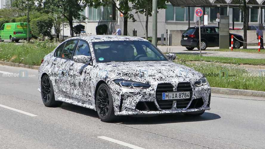 2020 BMW M3 bugüne kadar çekilen en net görüntüler ile karşımızda