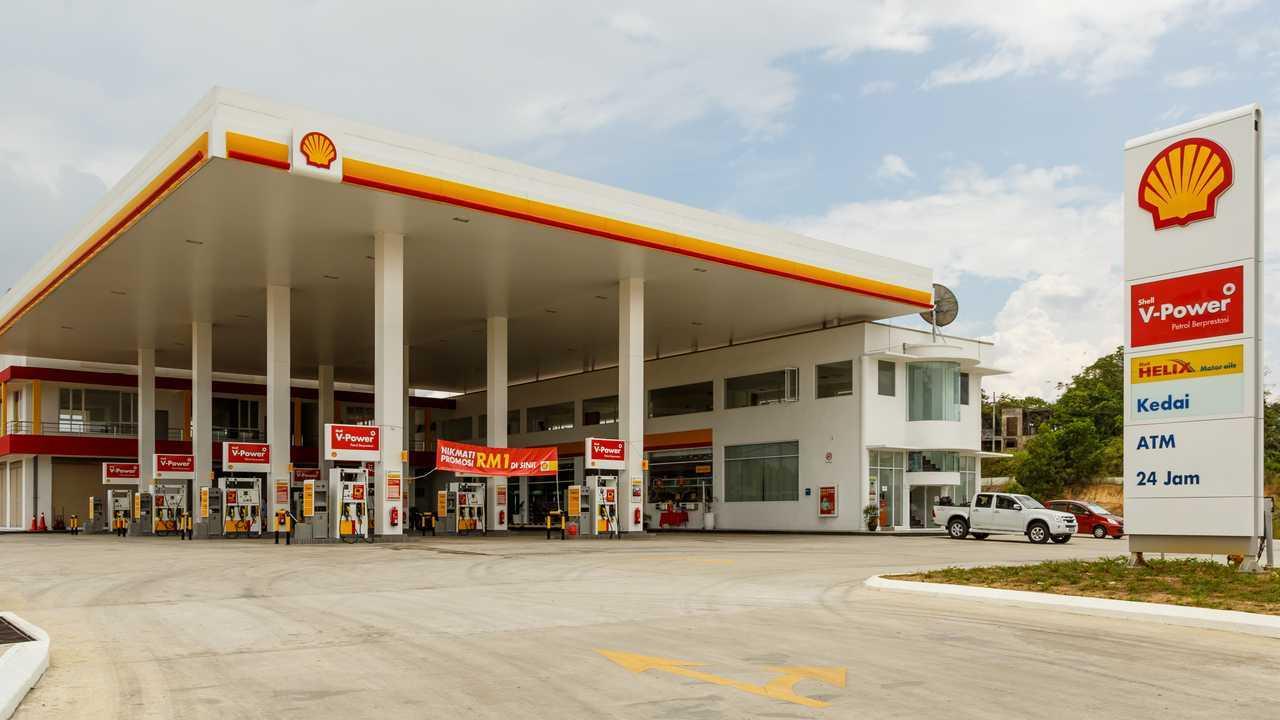 Shell benzina