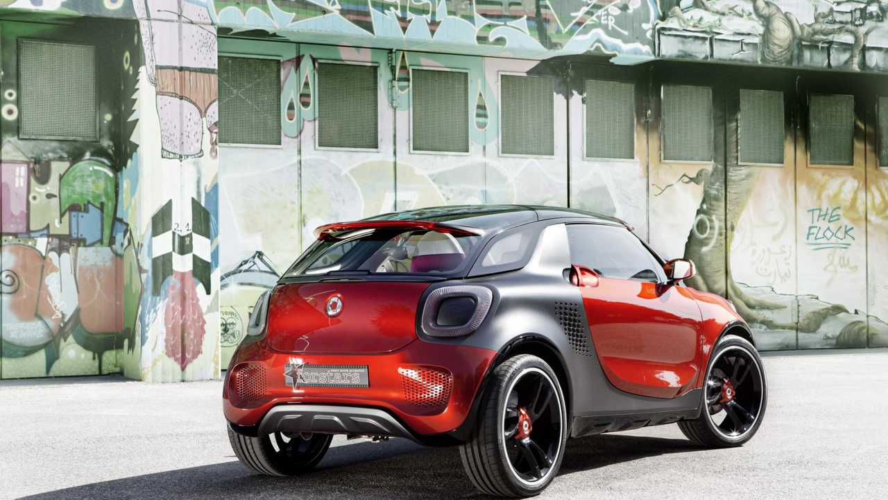smart Forstars, il concept 2012