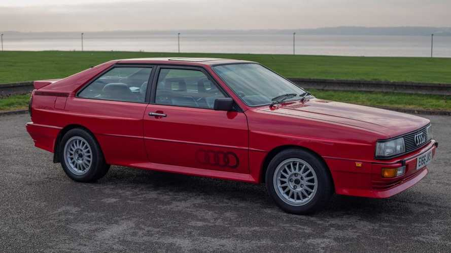 Relive Ashes to Ashes with this bright red 1988 Audi Quattro
