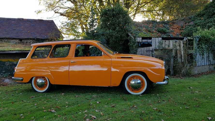 Restomod Saab 95 V4 is the coolest wagon you'll see today