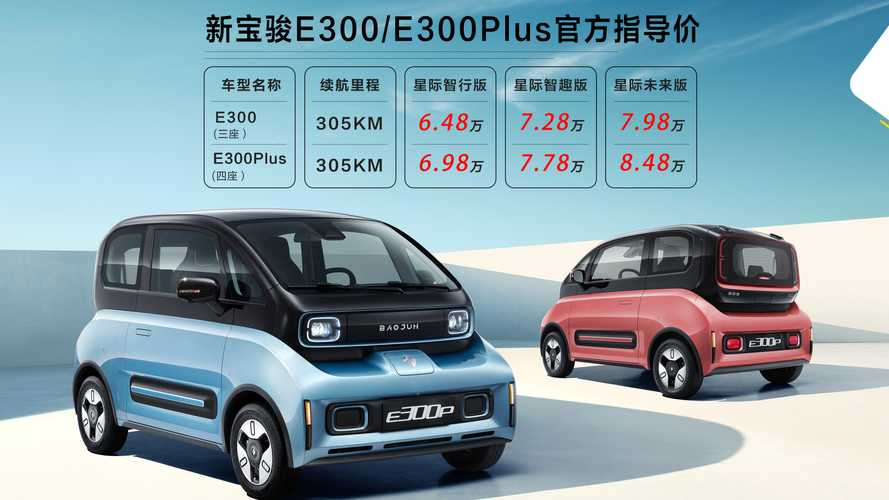 GM's Baojun Sells New EVs In China For Less Than $10,000