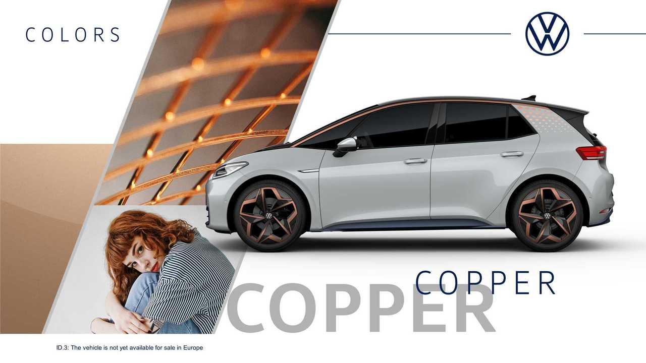 Volkswagen ID.3 - versões e cores