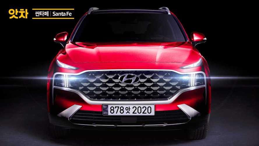 Hyundai Santa Fe 2021 - Nova projeção