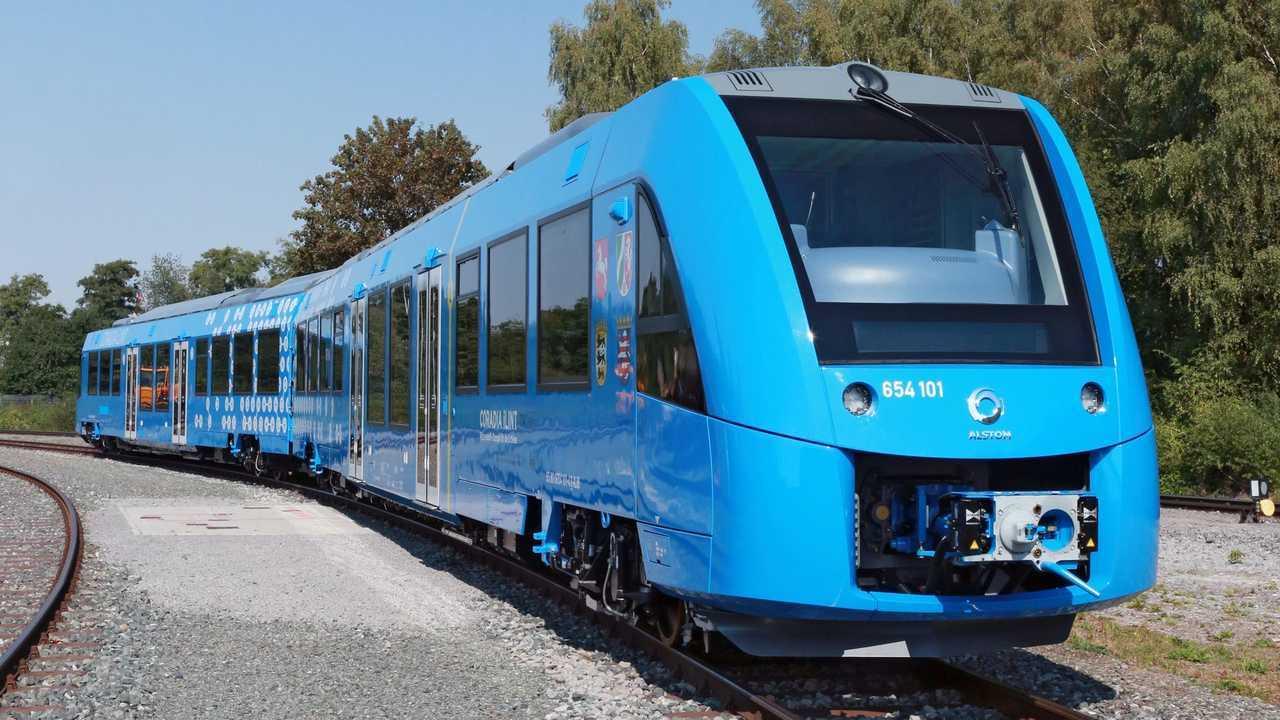 Trem a hidrogênio - Alstom
