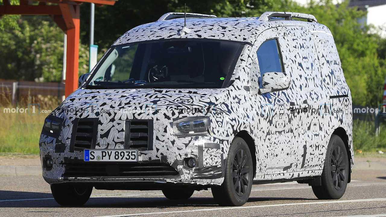 Mercedes-Benz Citan new spy photo