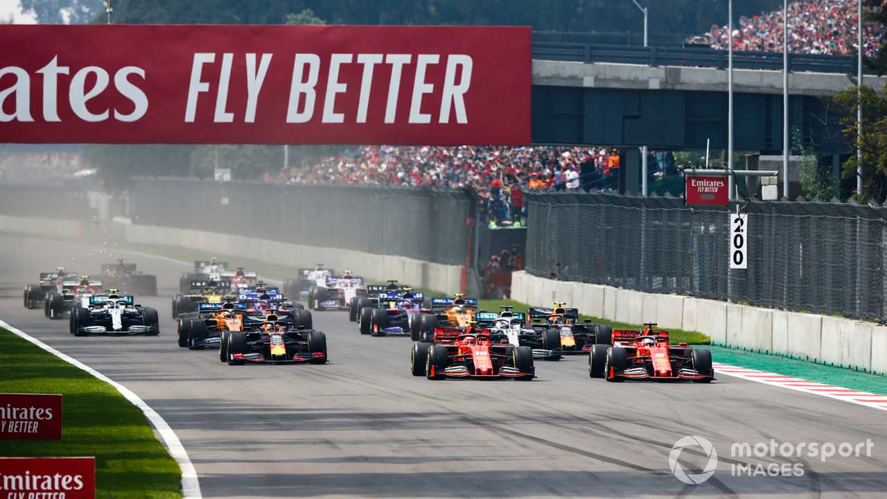 Mexican GP 2019 start race