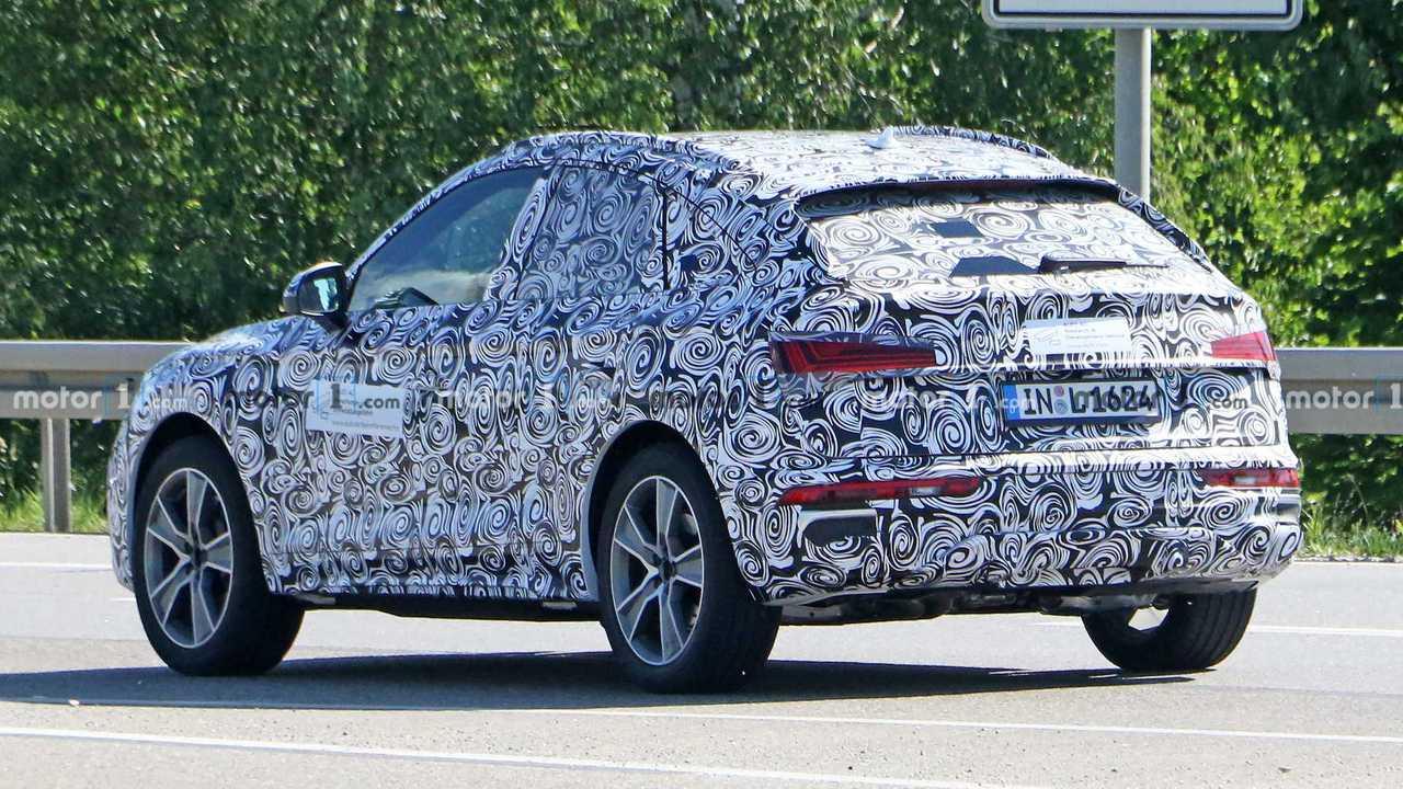 Audi Q5 Sportback 2020, fotos espía