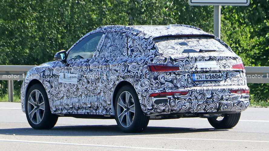 Audi Q5 Sportback - Flagra
