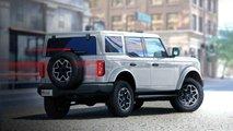 Projeções Ford Bronco 4 portas 2021