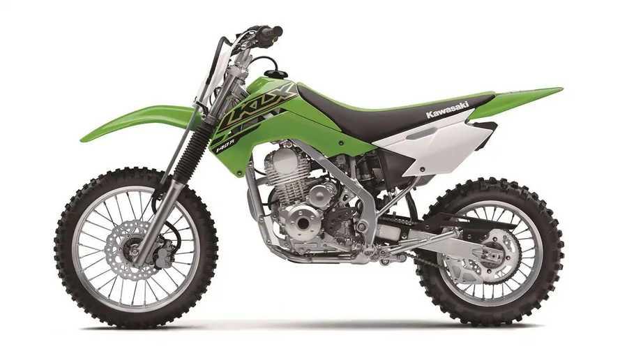2021 Kawasaki KLX140R and KLX230R Lineup