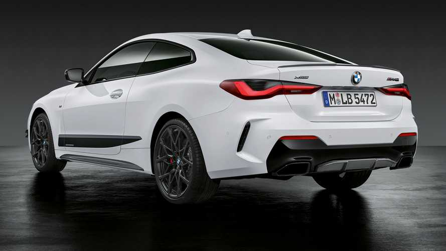 BMW Serie 4 con accesorios M Performance