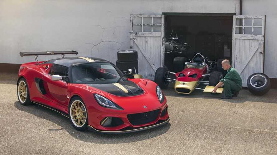 Lotus Exige special editions celebrate 70 years