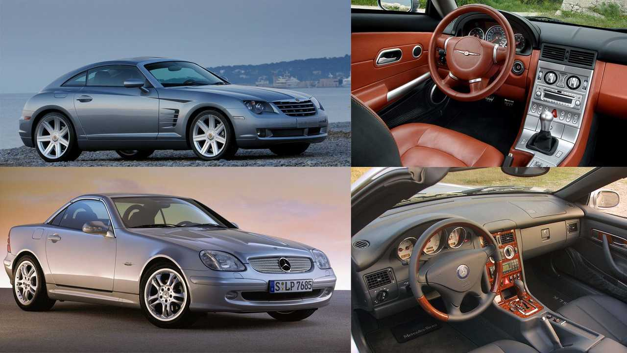 Chrysler Crossfire – Mercedes-Benz SLK (R170)