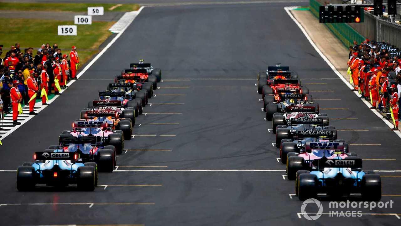 British GP 2019 starting grid